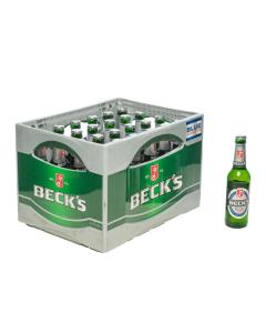 Durstquelle Biere alkoholfrei,Becks,Beck´s alkoholfrei 24x0,33