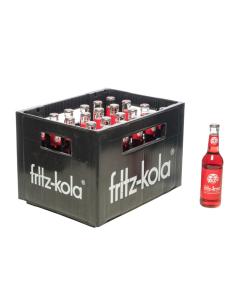 Durstquelle Limonaden,Fritz Kola,Fritz Orange 24x0,33