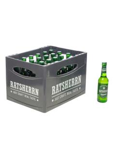Durstquelle Biere,Ratsherrn,Ratsherrn Pils 24x0,33