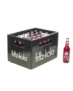 Durstquelle Fruchtschorlen,Fritz Kola,Fritz Traubenschorle 24x0,33