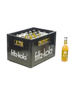 Durstquelle Fruchtschorlen,Fritz Kola,Fritz Apfelschorle 24x0,33