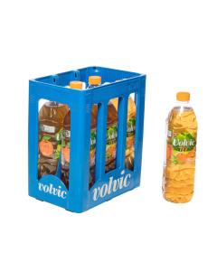 Durstquelle Fruchtschorlen,Volvic,Volvic Eistee Pfirsich 6x1,5
