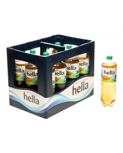 Durstquelle Fruchtschorlen,Hella,Hella Apfelschorle PET 12x1,0
